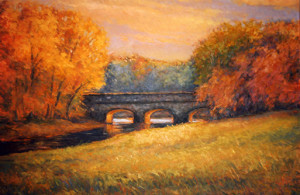 Stone Bridge- October  20 x 40   sold