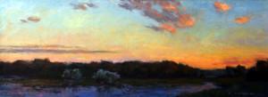 River Dusk   20 x 44   sold
