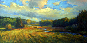Fields Near The Tree Line  20 x 40   sold