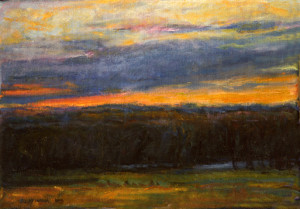 Evening Colors-Hutchins   14 x 16   800
