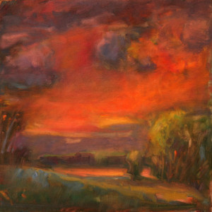 Landscape   12 x 12 sold