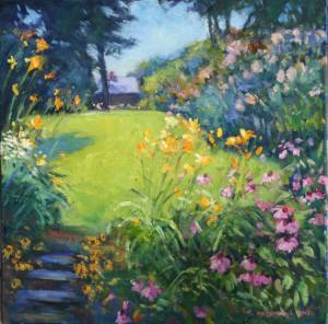 Hillside Garden-Somerset  20 x 20   1800