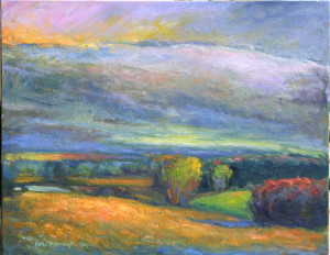 Clearing After A Summer Shower   22 x 28   sold