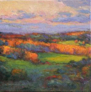 Nashoba Valley-Autumn   12 x 12   sold