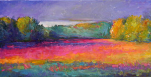 Tall Grass And Loosestrife   15  x  30   $2400