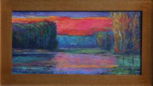 The Light Of Dusk   12 x 24  $1600